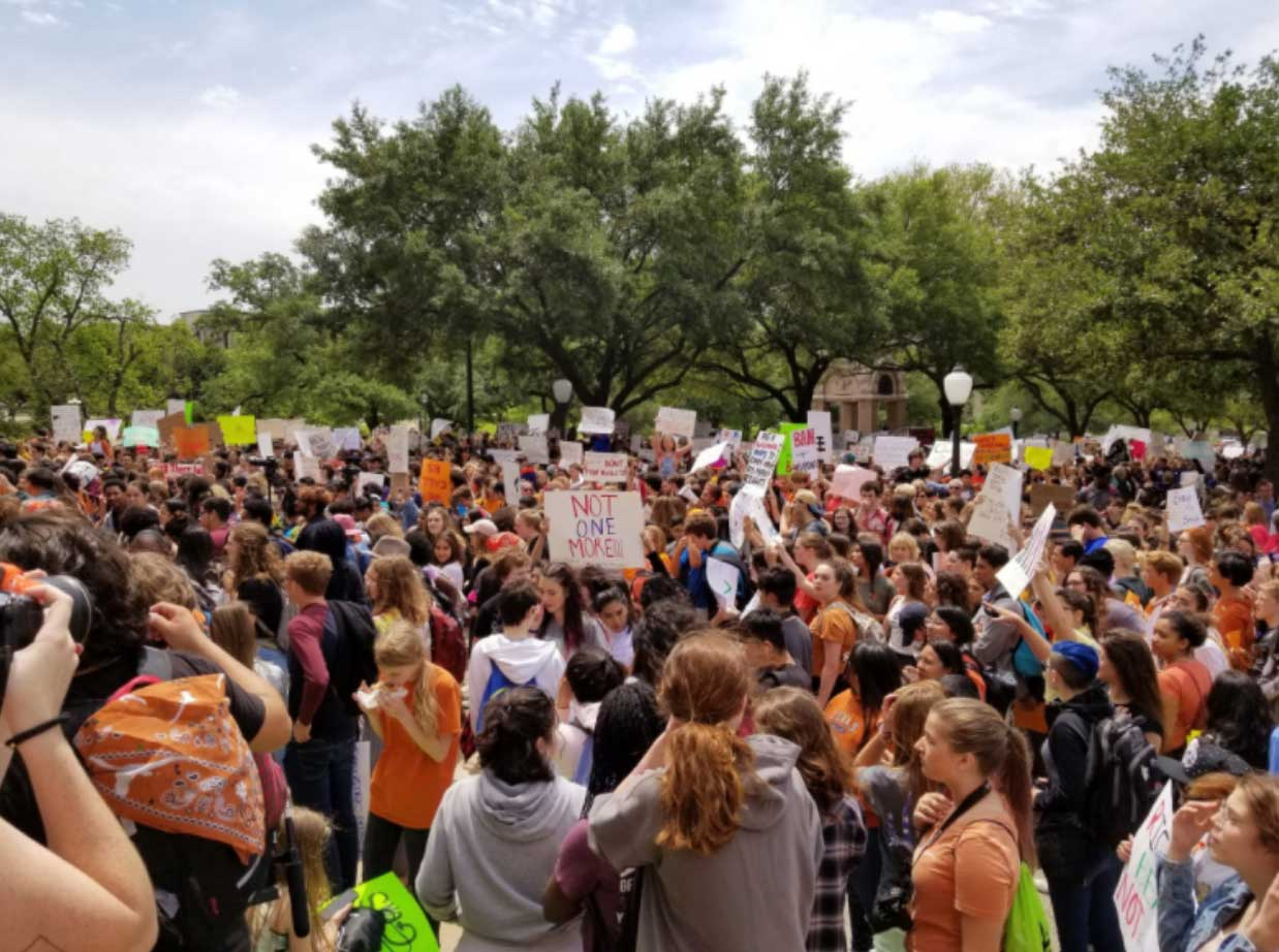 Texas Capitol Walkout